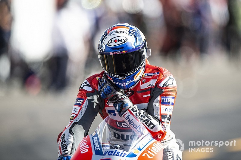 MotoGP Jepang: Dovizioso kuasai warm-up, Marquez kedua