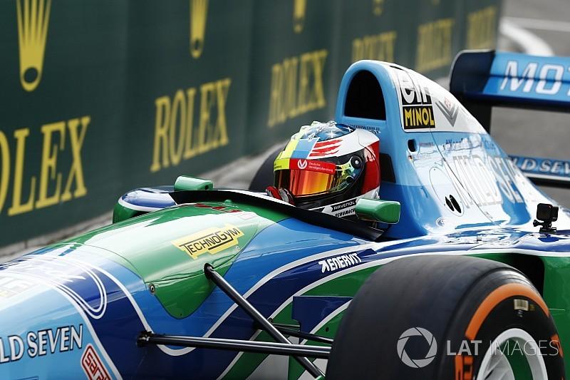 Onboard-Video: Mick Schumacher im Benetton B194 von Michael Schumacher