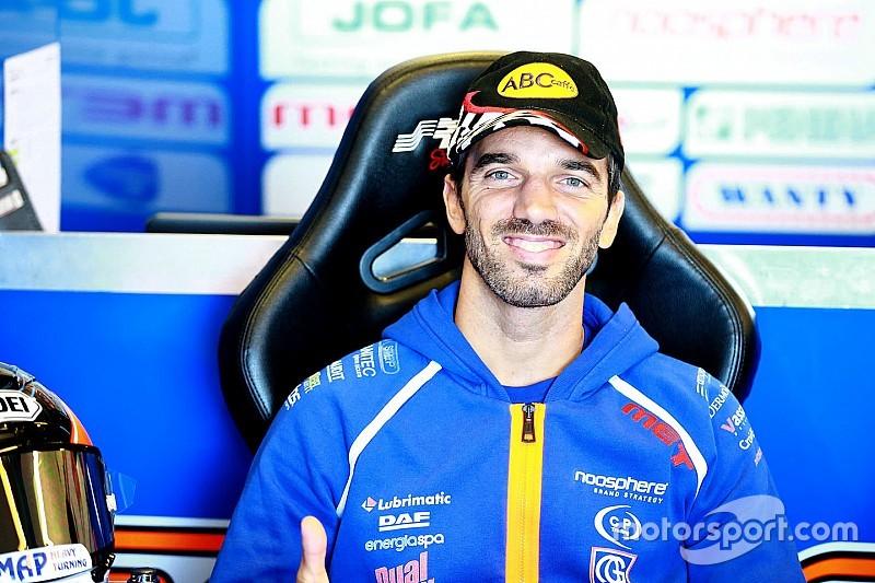 Ex-MotoGP rider de Angelis joins MotoE grid