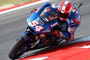 Moto2 Ultime notizie Pasini omaggia Simoncelli indossando il suo casco a Misano