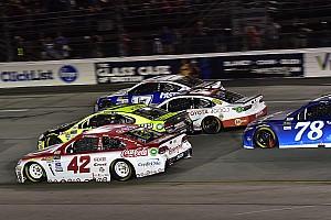 NASCAR Cup Reporte de la carrera Kyle Larson gana en Richmond con final caótico; Suárez termina en quinto