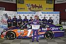 NASCAR Cup Hamlin e Kenseth regalano la prima fila a Charlotte al Joe Gibbs Racing