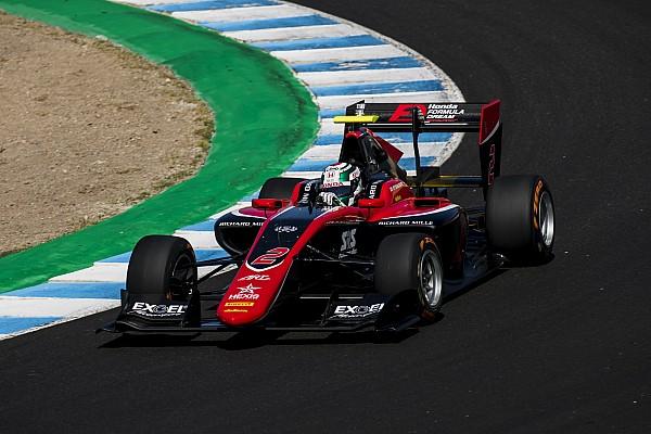 Фукузуми выиграл субботнюю гонку GP3 в Хересе