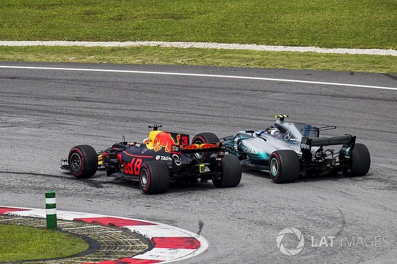 Horner: Ricciardo'nun 2017'de yaptığı geçişler 'olağanüstü'