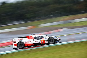 WEC Practice report Fuji WEC: Buemi puts Toyota on top in final practice