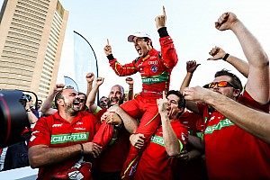 Formula E Reporte de la carrera Di Grassi gana título de Fórmula E; Pechito López sube al podio