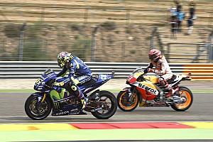MotoGP Prove libere Aragon, Libere 3: Marquez vola, ma un eroico Rossi entra in Q2!