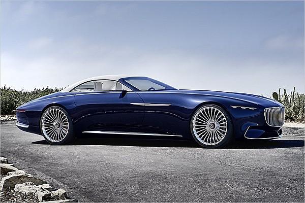 Automotive News Spektakuläres Elektro-Cabriolet von Mercedes-Maybach vorgestellt