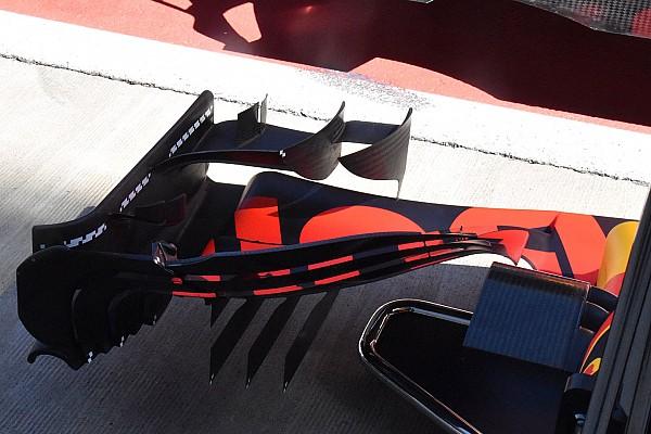 Formula 1 Analisi Red Bull: si studiano i movimenti dell'ala anteriore della RB13
