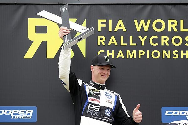 World Rallycross Résumé de course Kristoffersson vainqueur, Timmy Hansen près de l'exploit
