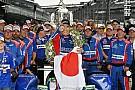 IndyCar Galería: Sato celebra su victoria en las 500 de Indy 2017