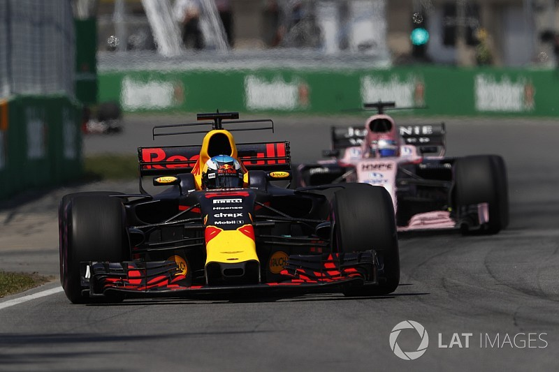 Red Bull : La menace Force India dépend des circuits