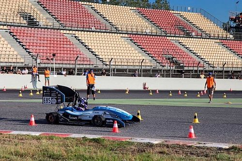 Formula Student Spain: Delft verslaat alle toppers in Barcelona