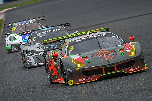 The 2016 GT Asia Series, by the numbers
