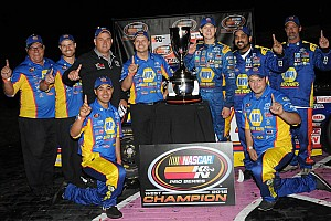 NASCAR Breaking news Fresh off first NASCAR title, Todd Gilliland to compete for two more in 2017