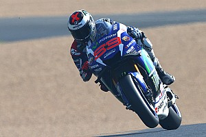 MotoGP Qualifying report Lorenzo powers to pole position in Le Mans