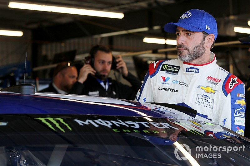 Jimmie Johnson isn't done,