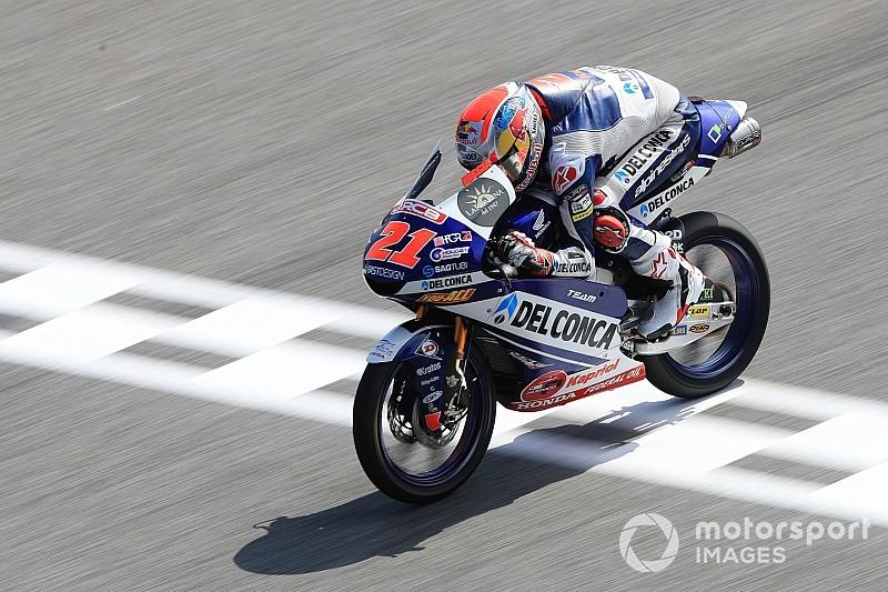 Moto3 in Thailand: Sieg für Di Giannantonio und Drama im Titelkampf