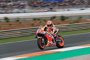Marquez, omzundaki acıya rağmen beşinci olduğu için mutlu