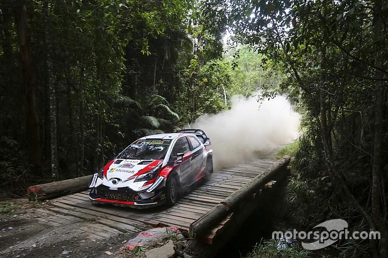 Le Rallye d'Australie