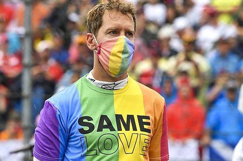 Vettel recibe una reprimenda por la camiseta LGTBI en Hungría