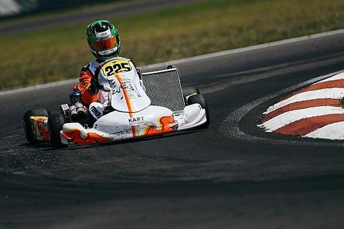 """Matheus Ferreira, """"o menino do Brasil"""", sagrou-se vice-campeão do Europeu de Kart"""