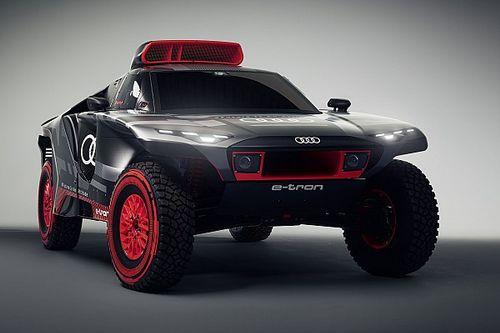 Dakar: Audi presenta la sua nuova arma, la RS Q e-tron