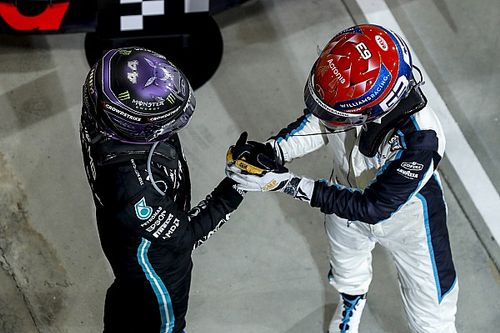 Williams: Russell very close to Hamilton's early F1 career level