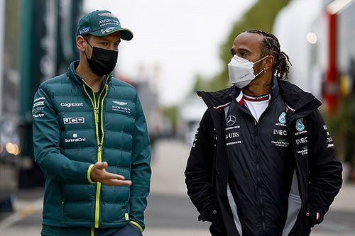 Hamilton: mis batallas favoritas en la F1 fueron contra Vettel