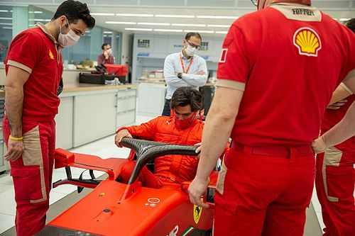 Sainz dispondrá de día y medio de test con Ferrari la próxima semana