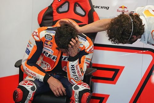 "Marquez ""exploded"" with emotion after ""dream"" MotoGP comeback"
