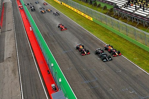 Verstappen surprised how good wet start was at Imola