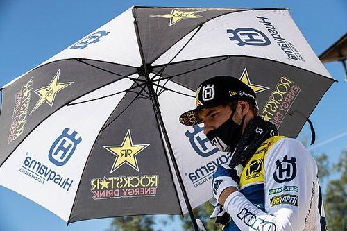 Raikkonen tuvo un gran gesto con un piloto de motocross accidentado