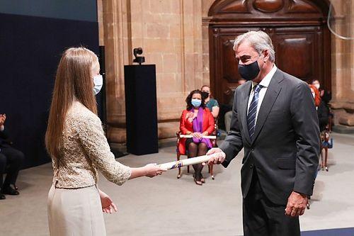 Fotos: Carlos Sainz y la ceremonia de los Princesa de Asturias 2020