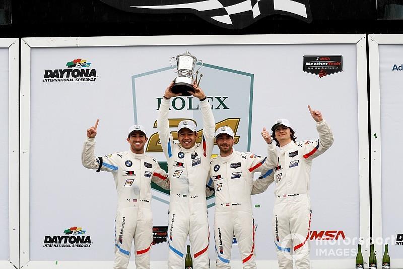 BMW dedica la victoria en Daytona a Charly Lamm