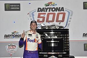 Hamlin visits New York after winning Daytona 500