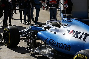 Williams' delayed FW42 finally makes it to testing