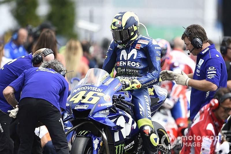 Rossi revela una rutina