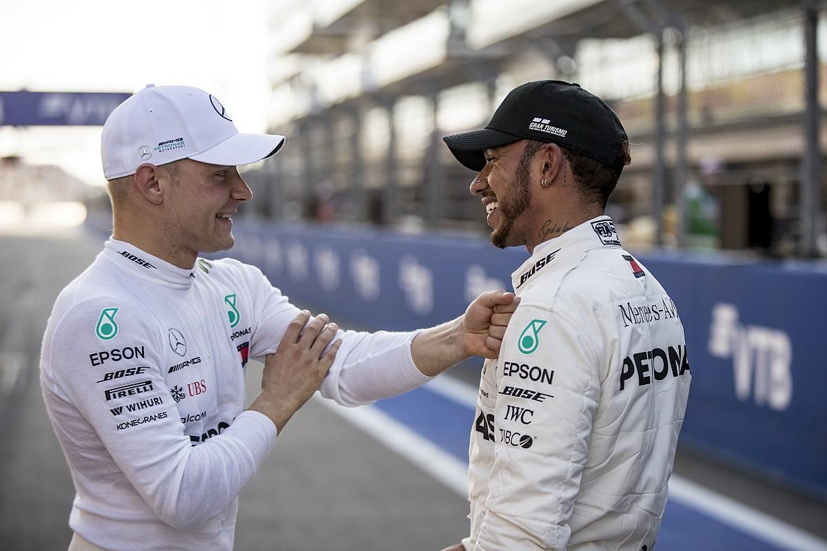 Хэмилтон назвал Боттаса лучшим напарником за всю историю Формулы 1
