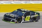 Yes, that was Jimmie Johnson up front in the Vegas playoff opener