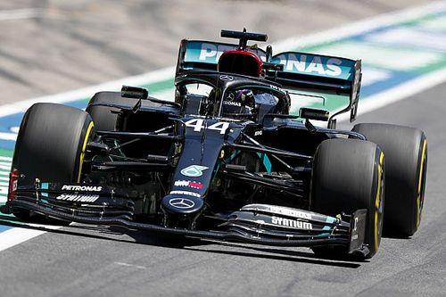 """Hamilton verbaasd door achterstand: """"Geen idee waar het aan ligt"""""""
