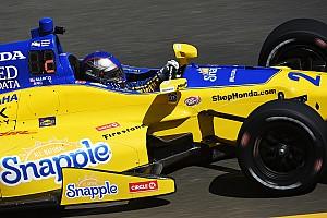 IndyCar Practice report Andretti leads practice; Newgarden, Hinchcliffe shunt