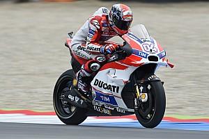 MotoGP Qualifying report Splendid pole position for Dovizioso at Assen