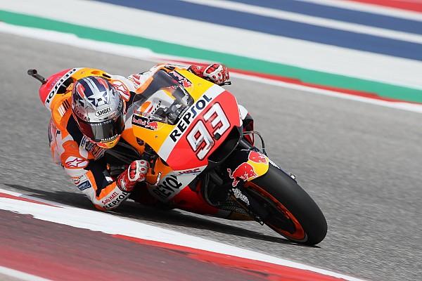 MotoGP Relato de classificação Mesmo com queda, Márquez faz pole polêmica nos EUA