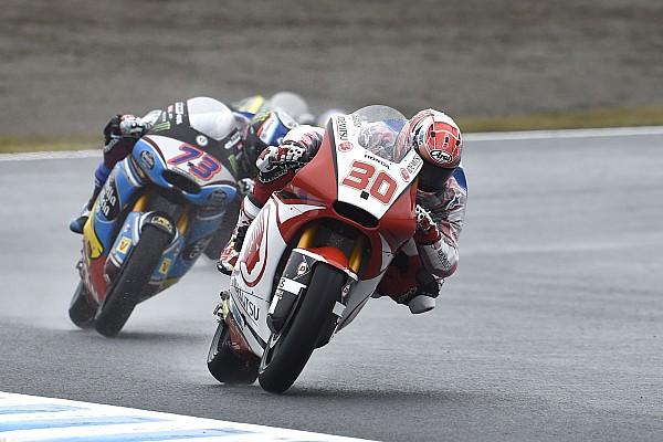 """Moto2 速報ニュース 大観衆が集まった冷雨のもてぎ。""""凱旋""""の日本人選手は悲喜こもごも"""