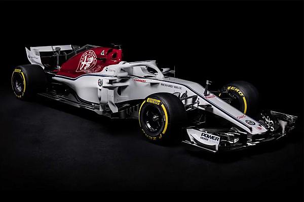 Formula 1 Breaking news Sauber reveals Alfa Romeo-backed C37