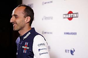 Forma-1 Motorsport.com hírek Kubica vasárnap debütál a 2018-as Williams volánja mögött