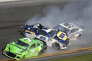 Daytona 500: Danica Patrick's final NASCAR race comes to an abrupt end