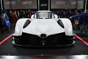 General 速報ニュース WEC技術を市販車へ! トヨタ、次世代のスポーツコンセプトを発表