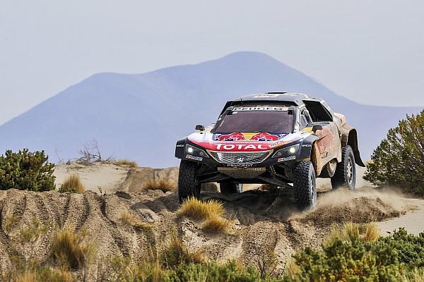 Dakar Reporte de la carrera Sainz salva un complicado día y sigue líder del Dakar